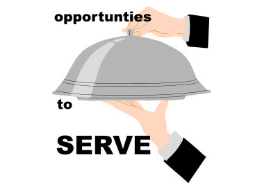 Opportunies to serve
